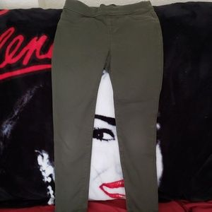 Size small 6-7 Old Navy green ballerina jeans